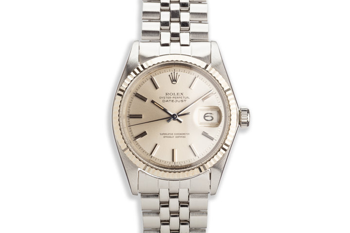1968 Vintage Rolex DateJust 1601 No Lume Dial photo