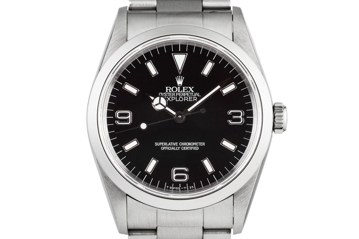 1997 Rolex Explorer 14270 with Tritium Dial photo, #0
