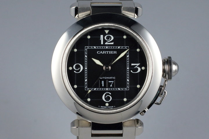 Cartier Pasha 'C' 2475 Black Dial photo