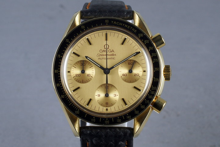 1993 Omega 18K Automatic Speedmaster 375.0032 photo