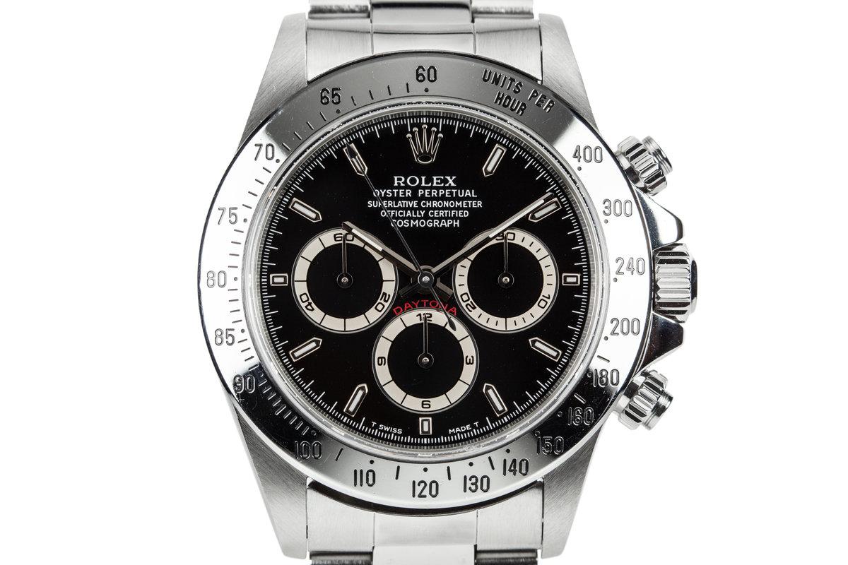 1997 Rolex Daytona 16520 Black Dial photo, #0