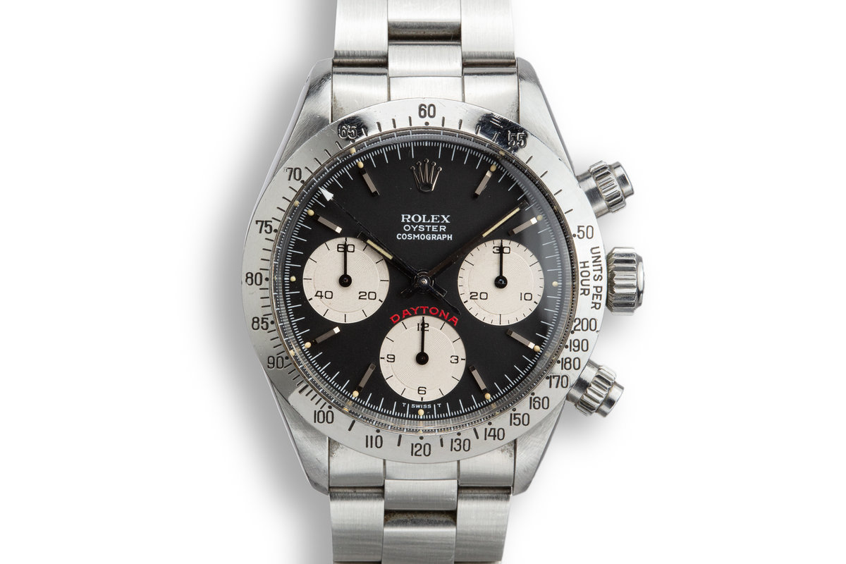 1978 Rolex Daytona 6265 Black Dial with Box and Papers photo, #0