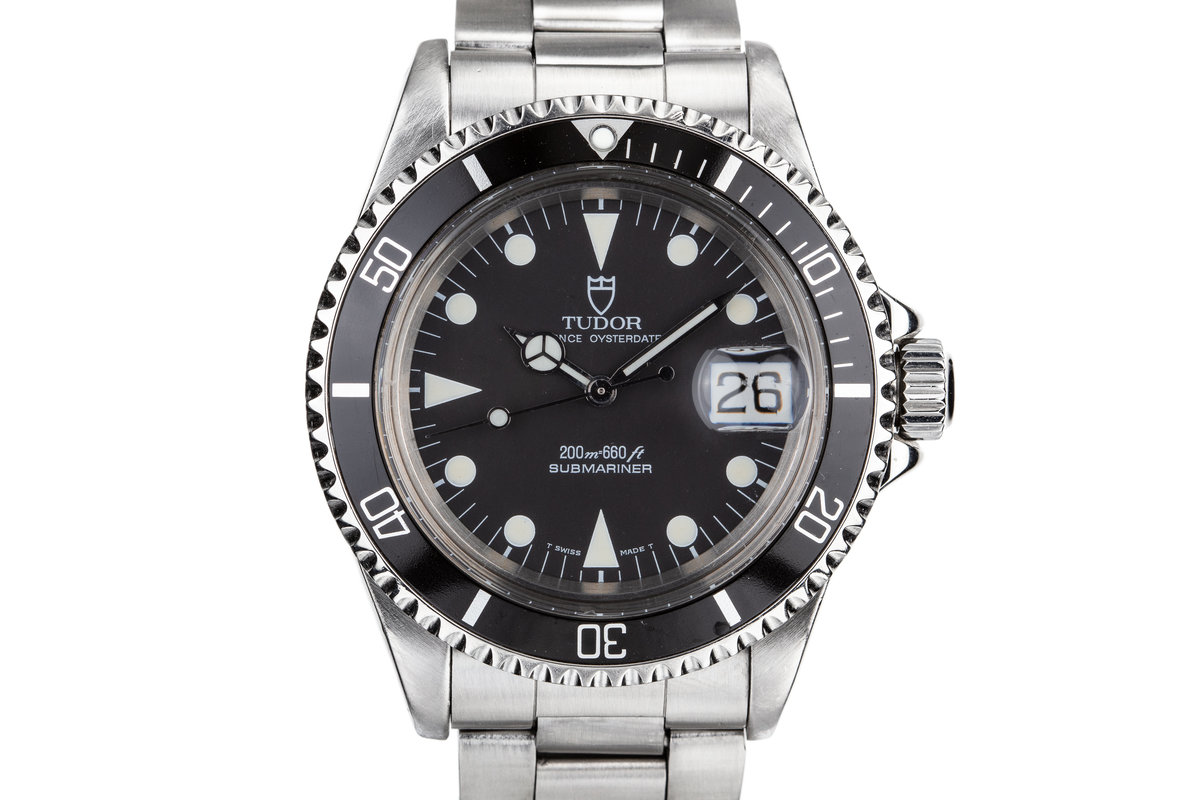 1992 Tudor Submariner 79090 with Box and Papers photo, #0