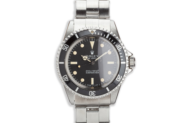 1967 Vintage Rolex Submariner 5513 Meters First Dial photo