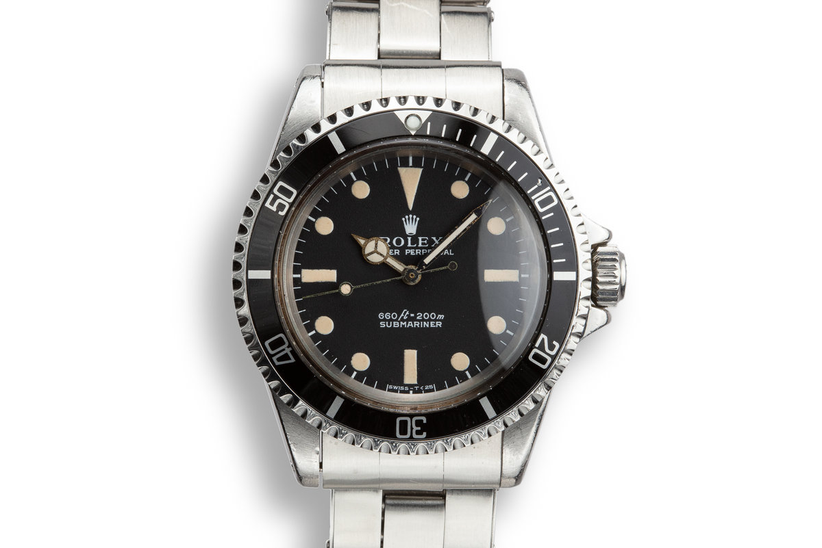 1971 Rolex Submariner 5513 Serif Dial with Box photo, #0