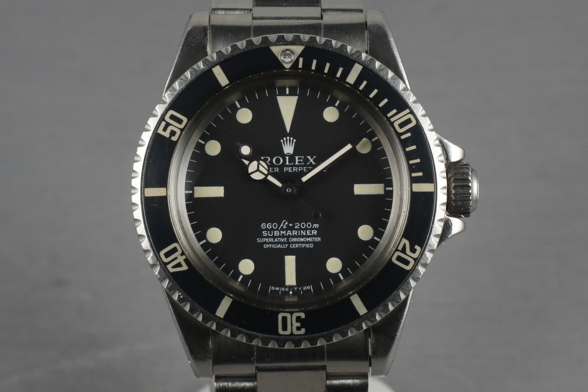 Rolex Submariner  5512 with Box and Papers photo, #0