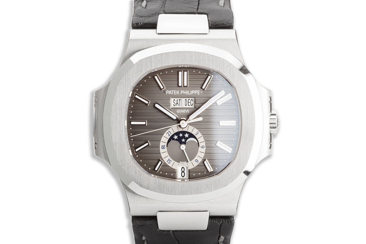 2016 Patek Philippe Nautilus Annual Calendar 5726A-001 Black Dial with Box & Papers photo, #0