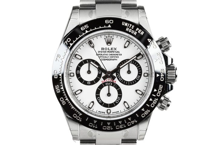 2017 Rolex Daytona 116500LN White Dial with Box and Papers MINT photo