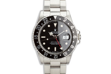 1985 Vintage Rolex GMT-Master 16750 Spider dial photo