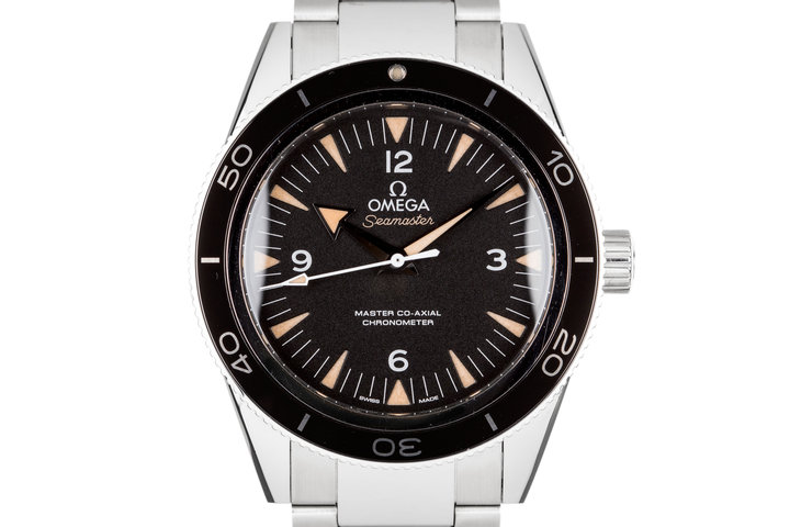 2015 Omega Seamaster with Box and Papers photo