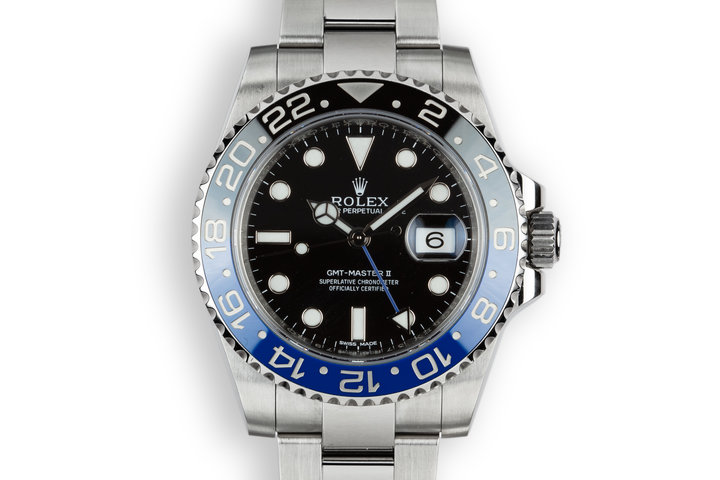2014 Rolex GMT-Master II 116710 BLNR with Box and Papers photo