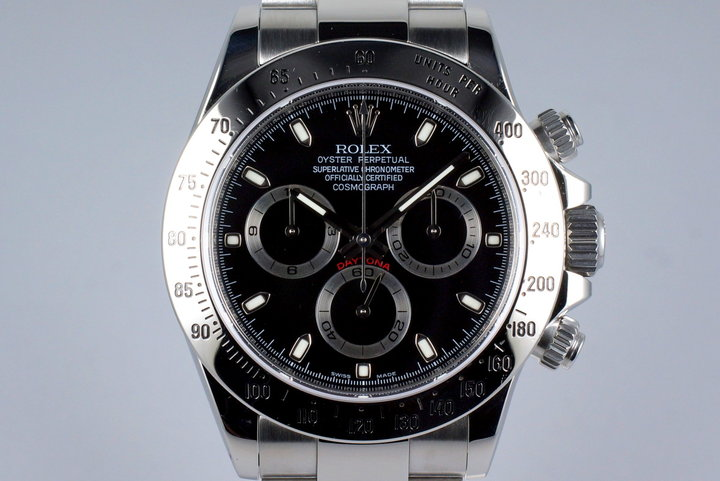 2009 Rolex Daytona 116520 Black Dial with Box and Papers photo