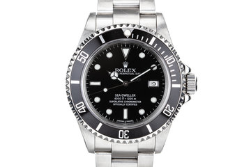1999 Rolex Sea-Dweller 16600 photo