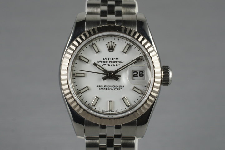2006 Rolex Ladies Datejust 179174 with Box and Papers photo