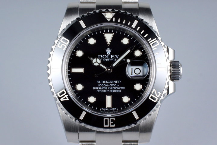 2016 Rolex Submariner 116610 photo