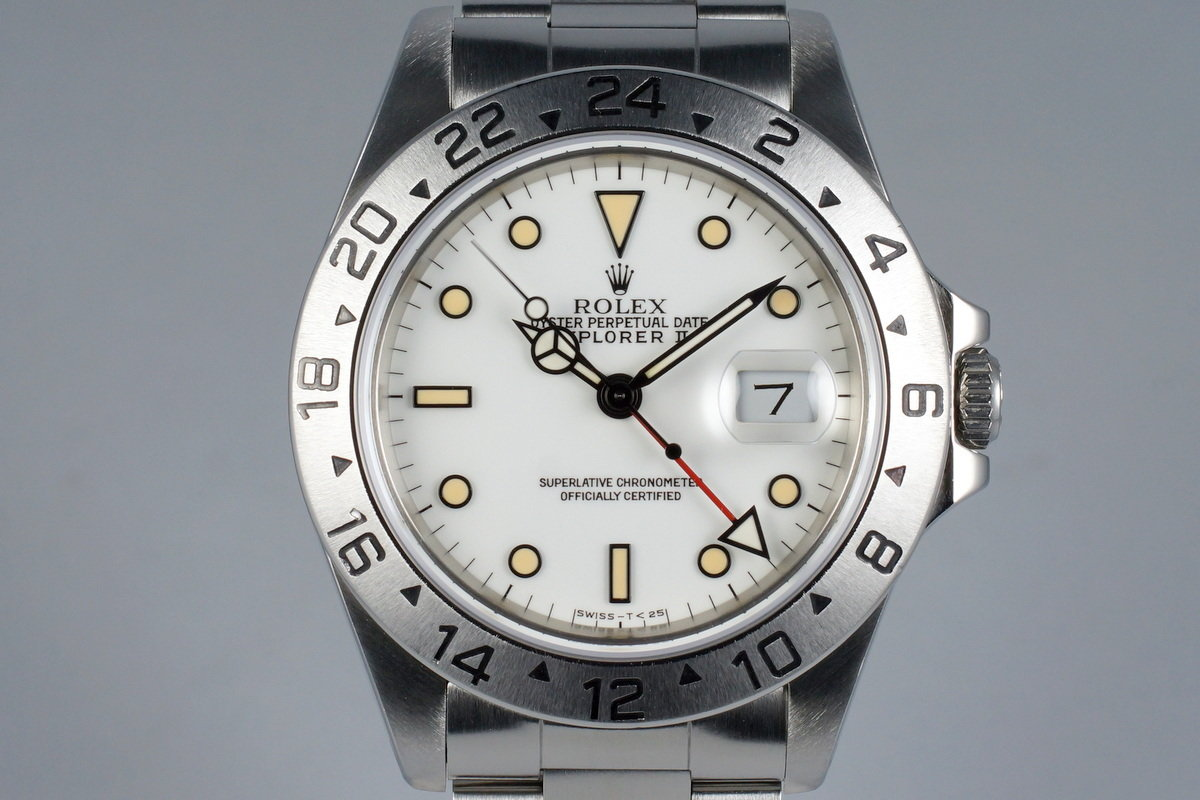 1991 Rolex Explorer II 16570 White Dial photo, #0