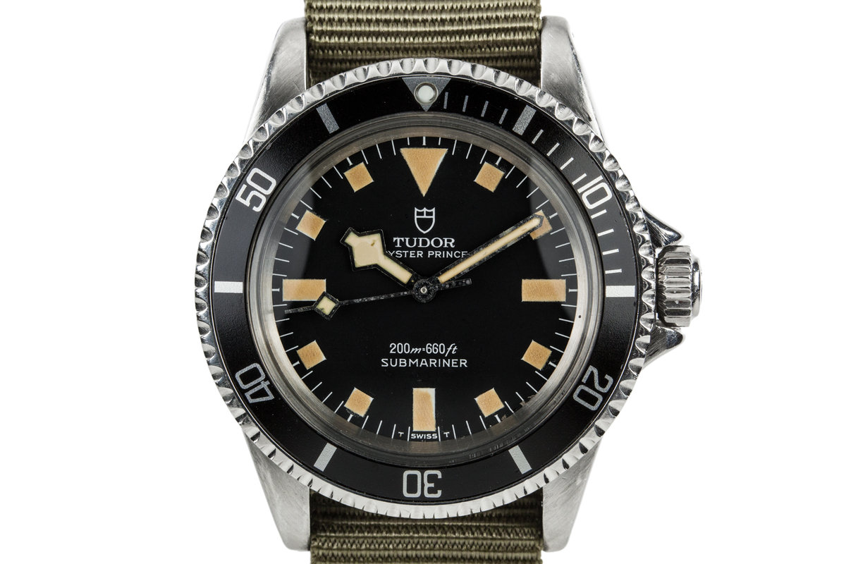 1965 Tudor Submariner 7928 with Newer Snowflake Dial and Hands photo, #0