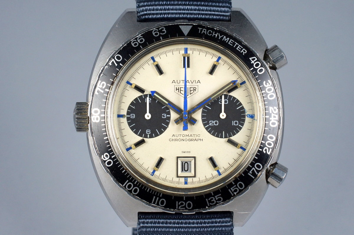 1970's Heuer Autavia 1163 T with 'Siffert' Dial photo, #0