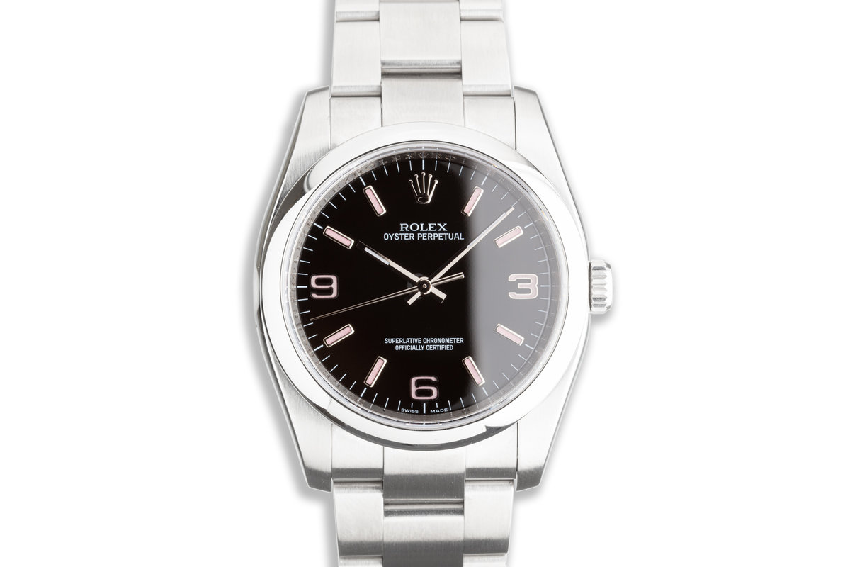 2007 Rolex Oyster Perpetual 116000 with Box & Card photo, #0