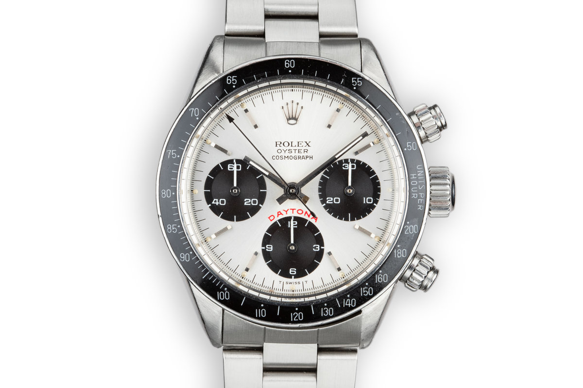 """1980 Rolex Daytona 6263 Silver """"Big Red"""" Dial with Papers photo, #0"""