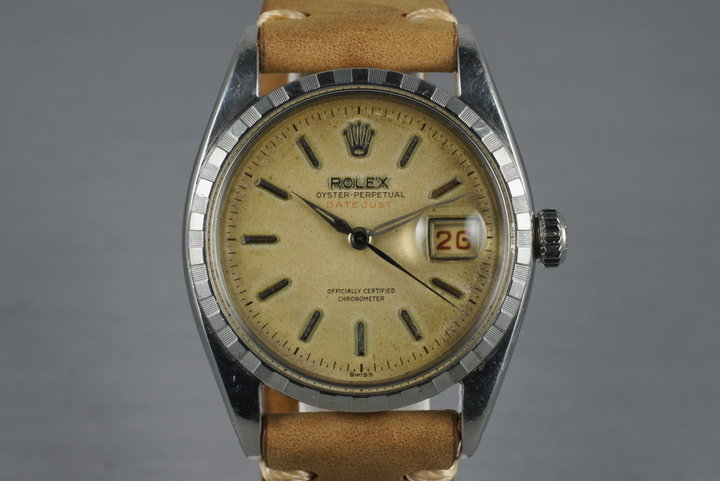 1956 Rolex Datejust 6305 2 with Tropical Dial photo