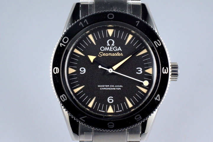 2015 Omega Seamaster 300 Lim. Ed. James Bond Spectre 233.32.41.21.01.001 with Box and Papers photo