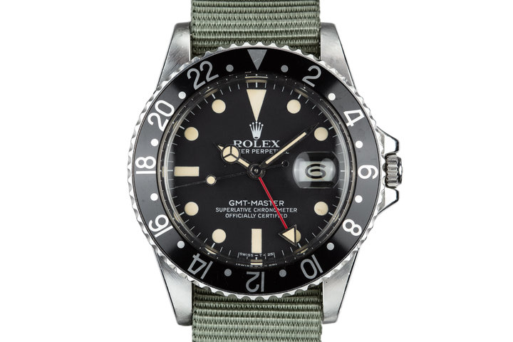 1981 Rolex GMT-Master 16750 Black Bezel photo