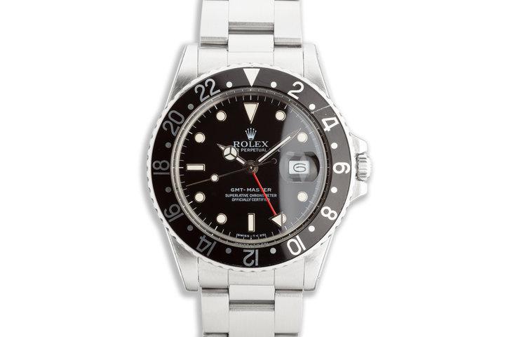 1987 Vintage Rolex GMT-Master 16750 photo