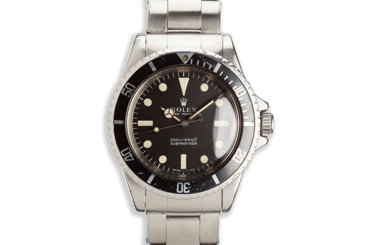1969 Rolex Submariner 5513 Meters First Dial photo, #0