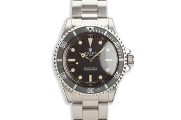 1970 Vintage Rolex Submariner 5513 photo