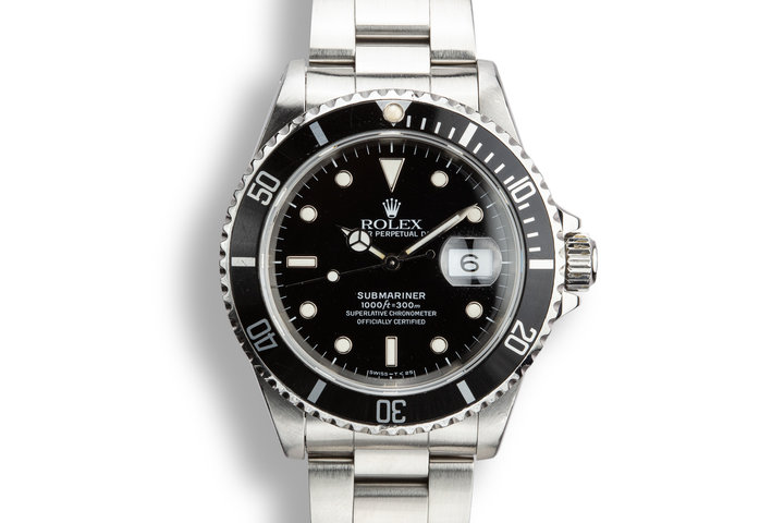 1990 Rolex Submariner 16610 With Box and Papers photo