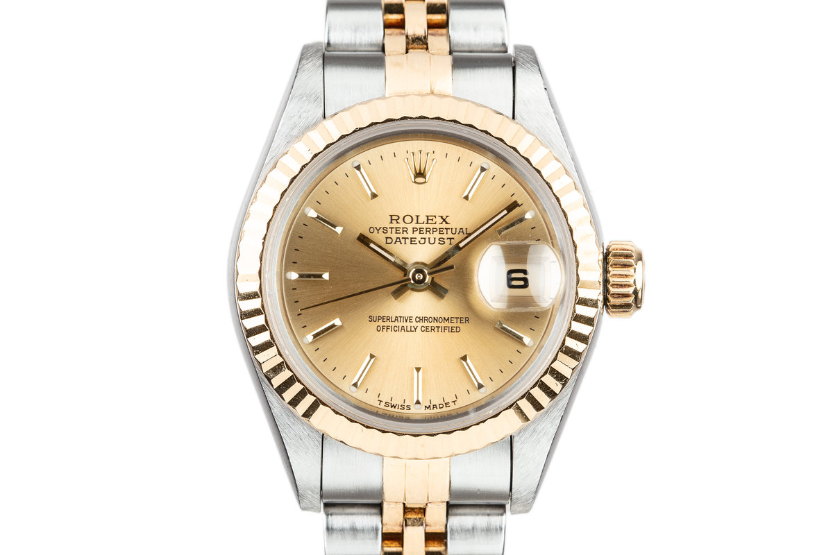 1995 Rolex Ladies Two Tone DateJust 69173 photo, #0