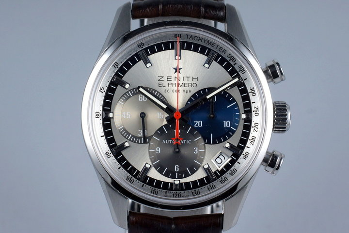 2013 Zenith El Primero 03.2150.400 Original 1969 with Box and Papers photo