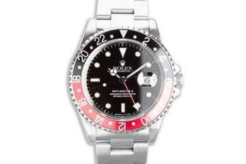 "1997 Rolex GMT-Master II 16710 ""Coke"" Bezel photo"