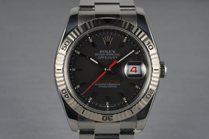 2005 Rolex DateJust 116264 Turn-O-Graph photo