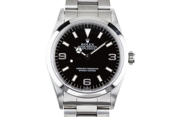 "1997 Rolex Explorer 14270 ""SWISS"" Only Dial photo"