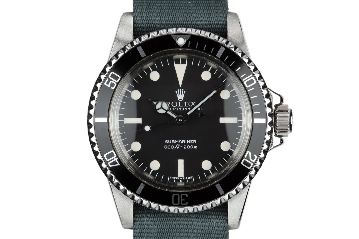 1979 Rolex Submariner 5513 with MK III Maxi Dial photo, #0