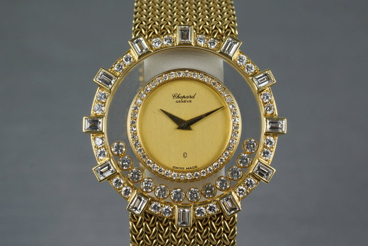Chopard YG Happy Diamonds Watch 1099 photo