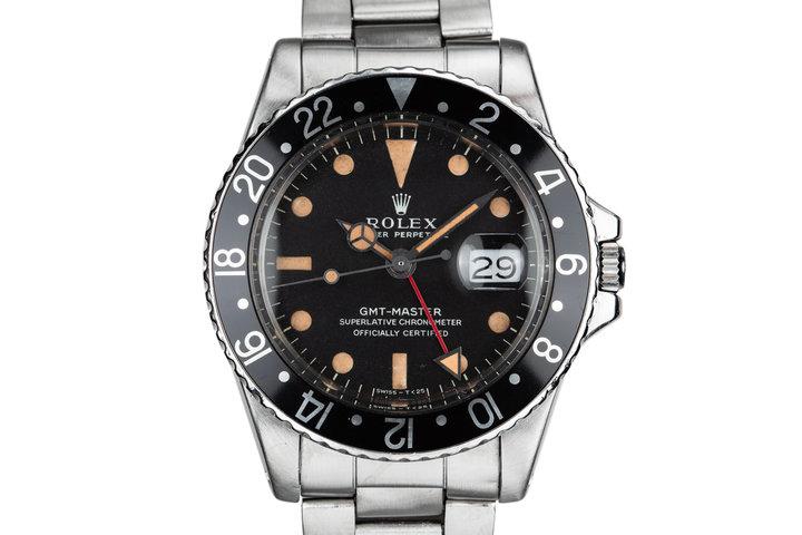 1968 Rolex GMT-Master 1675 Black Bezel photo