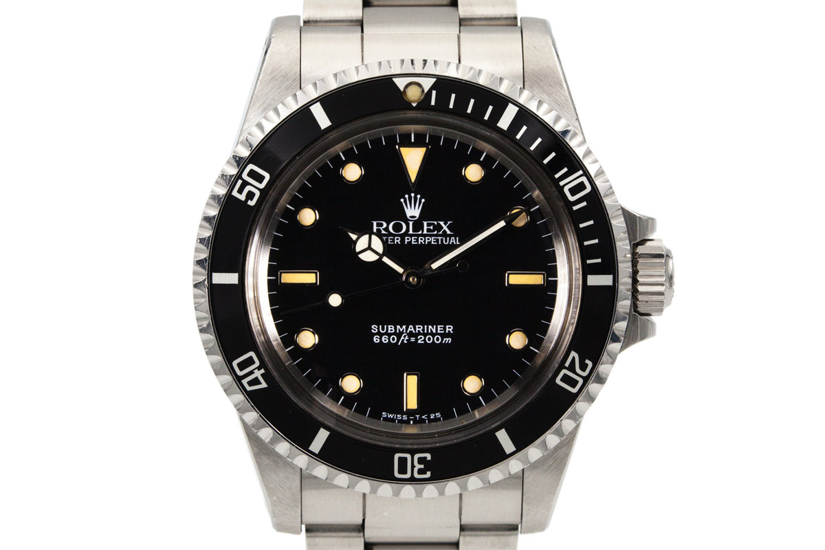1988 Rolex Submariner 5513 Unpolished photo, #0