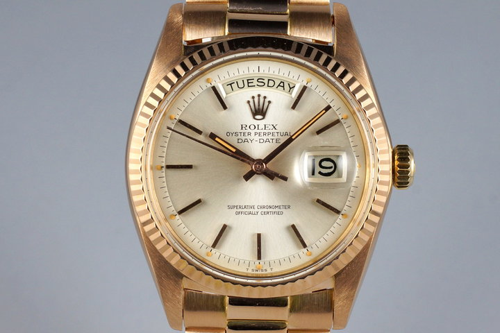 1968 Rolex Rose Gold Day-Date 1803 photo