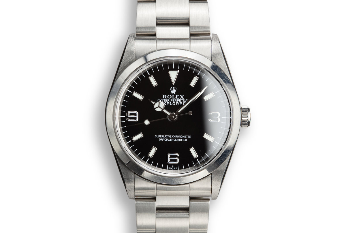 "1999 Rolex Explorer I 14270 ""SWISS"" Only Dial photo, #0"