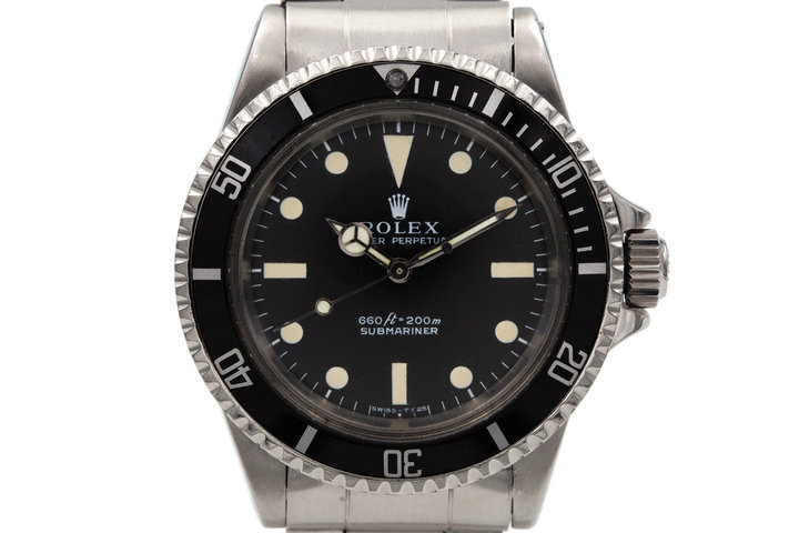 "1970 Rolex Submariner 5513 ""Non-Serif"" Dial photo"