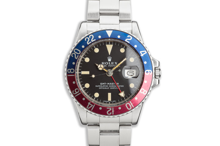 1971 Vintage Rolex GMT-Master 1675 MKII Dial photo