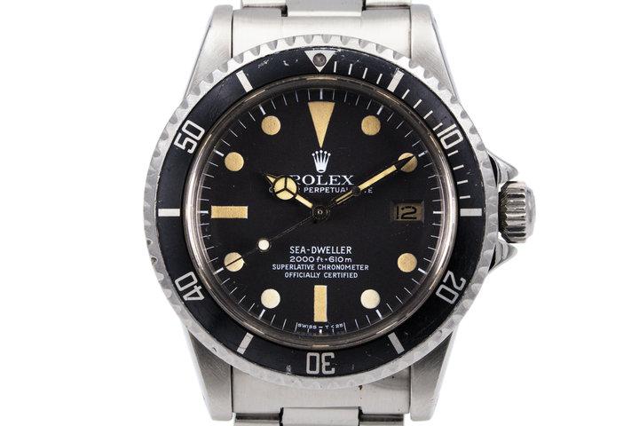 1978 Rolex Sea Dweller 1665 Mark I Dial photo