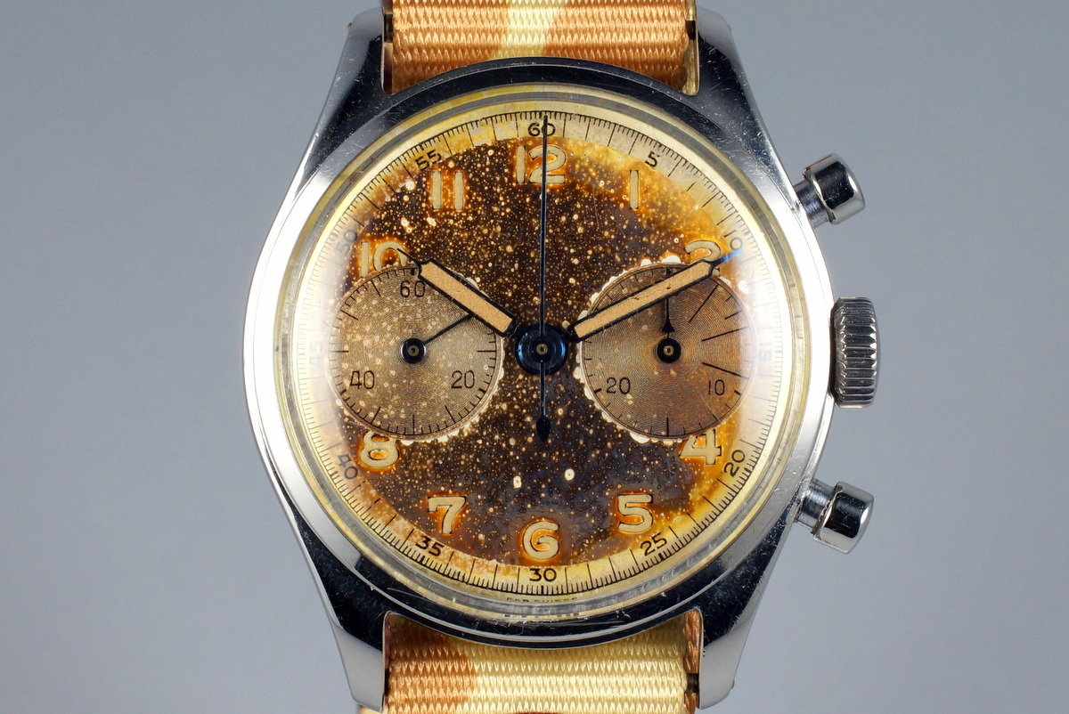 Vintage Turler Chronograph with Tropical Dial photo, #0