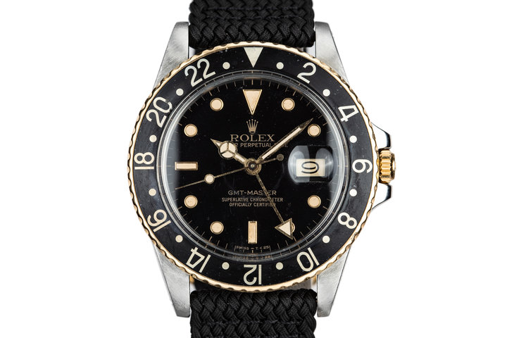 1985 Rolex Two-Tone GMT-Master 16753 photo