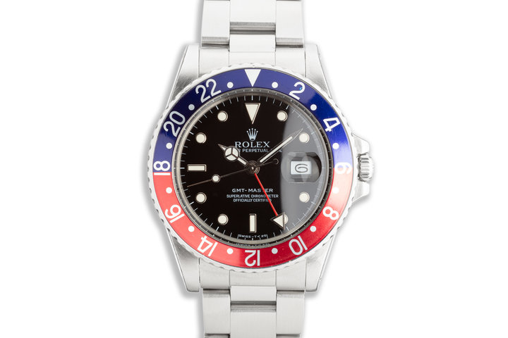 "1987 Vintage Rolex GMT-Master 16750 ""Pepsi"" Dial photo"