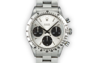 1970 Rolex Daytona 6262 Silver Dial photo