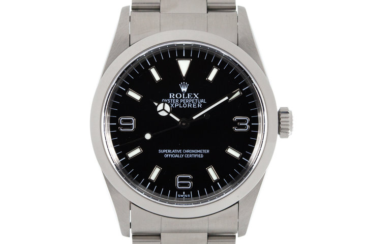 1997 Rolex Explorer 14270 with Uncommon SWISS only Dial photo